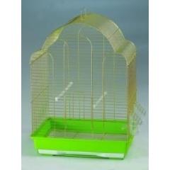 7000 GOLD Клетка для птиц золотая 430х305х575 см
