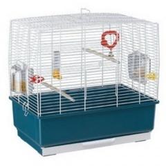 52009801/17 FERPLAST Клетка RECORD-3 для птиц 50х30х48,5 см