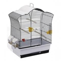 52014517 FERPLAST Клетка GAIA SUN для птиц с защитной крышей 44х25х50,5 см